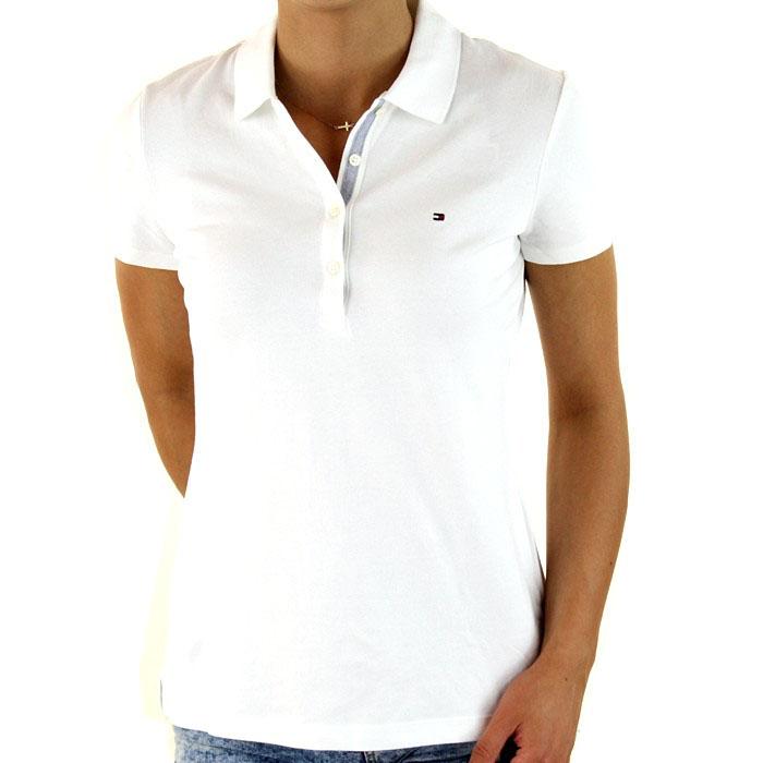 82f02e4f00f02 NOWA Koszulka polo Tommy Hilfiger biała L - 7353107456 - oficjalne ...