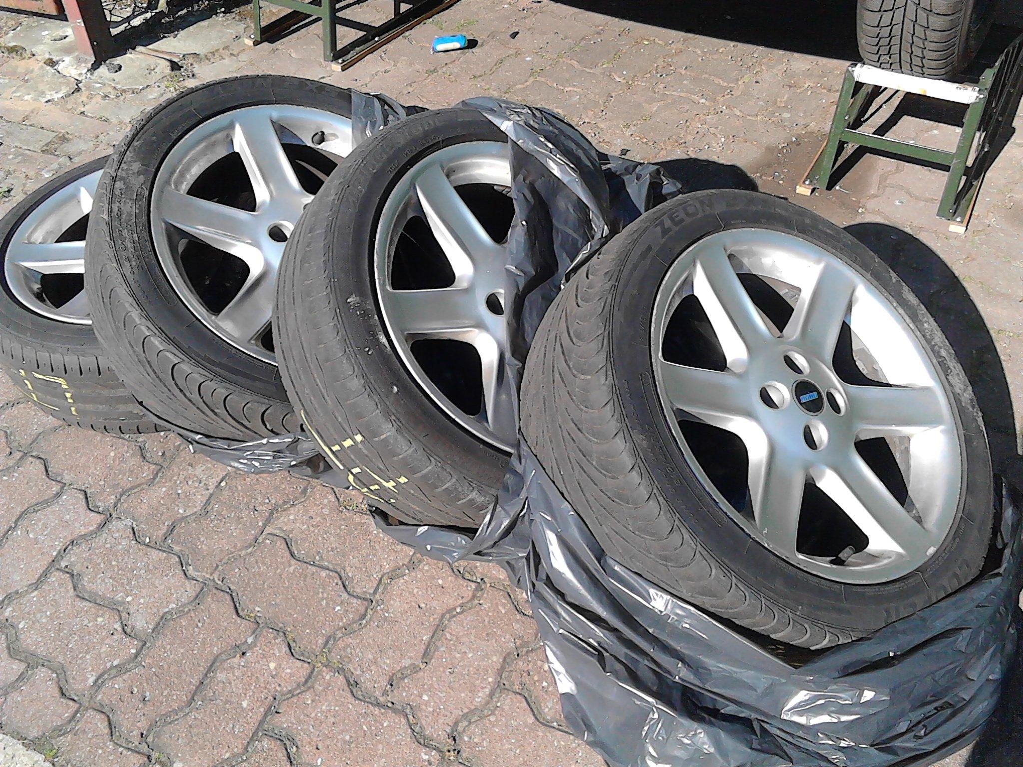 Alufelgi Fiat 17 4x98 Felgi Aluminiowe Szczecin 7346890925