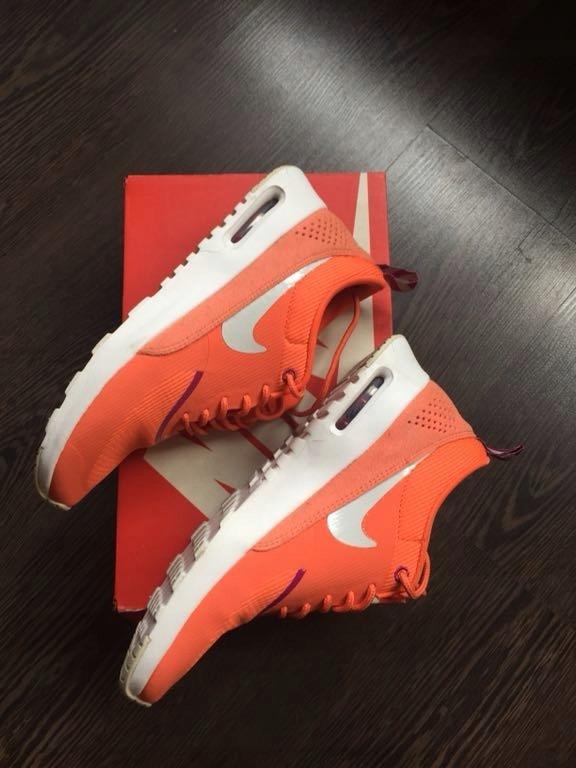 NOWE Nike Air Max Thea 38 pomarańczowe adidasy