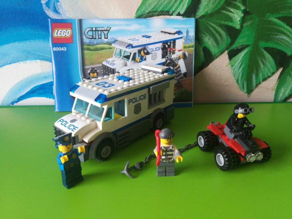Lego City Konwój Policji 60043 7394870913 Oficjalne Archiwum Allegro