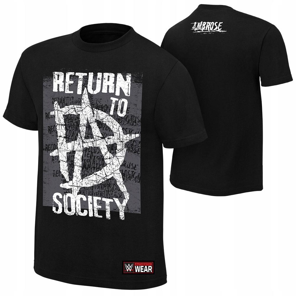 7571c1e04dbe1 T-shirt koszulka WWE DEAN AMBROSE roz.XS - 7664705020 - oficjalne ...
