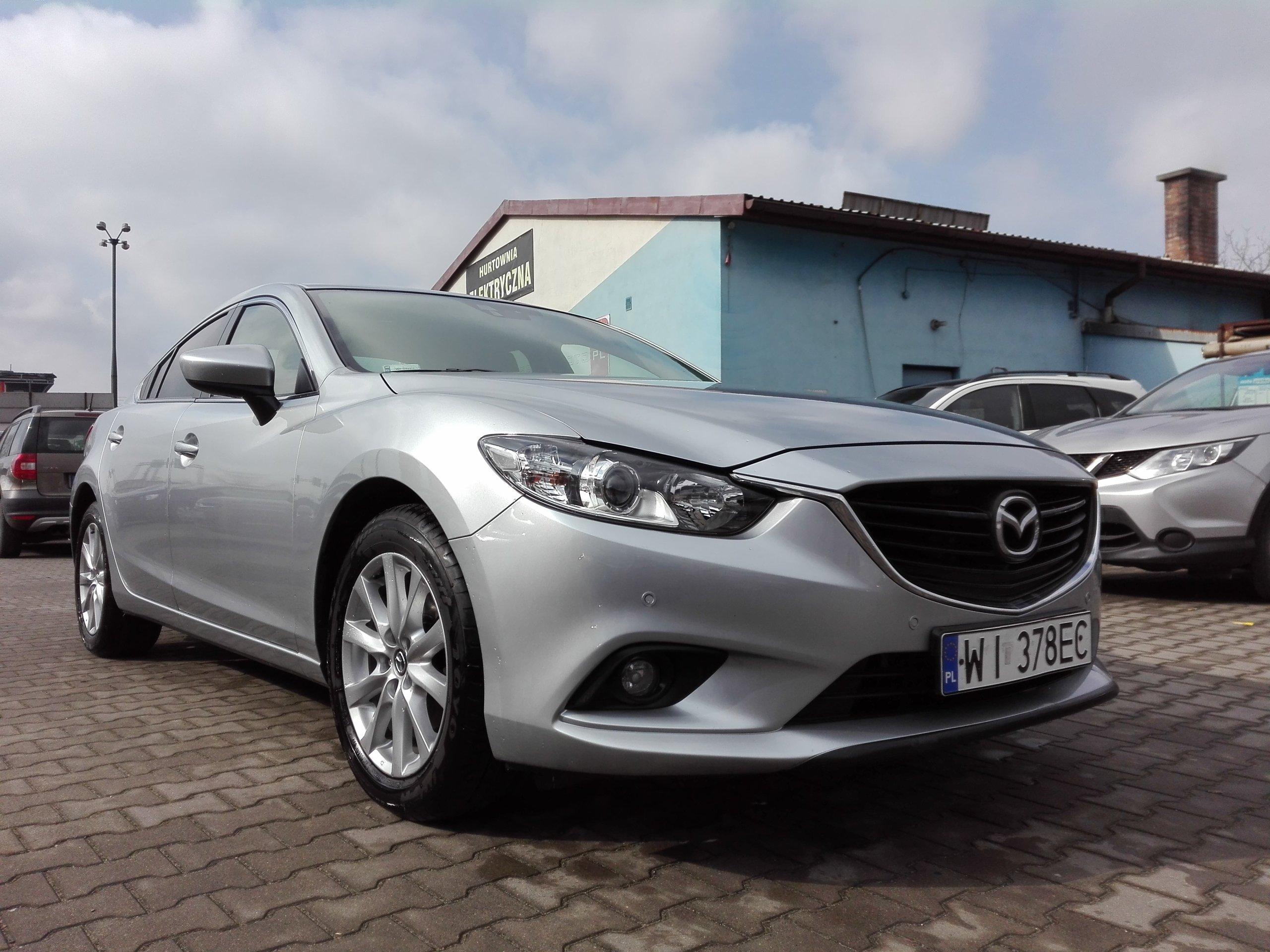 Mazda 6 Salon Polska,Serwis w ASO,Bezwypadkowa.