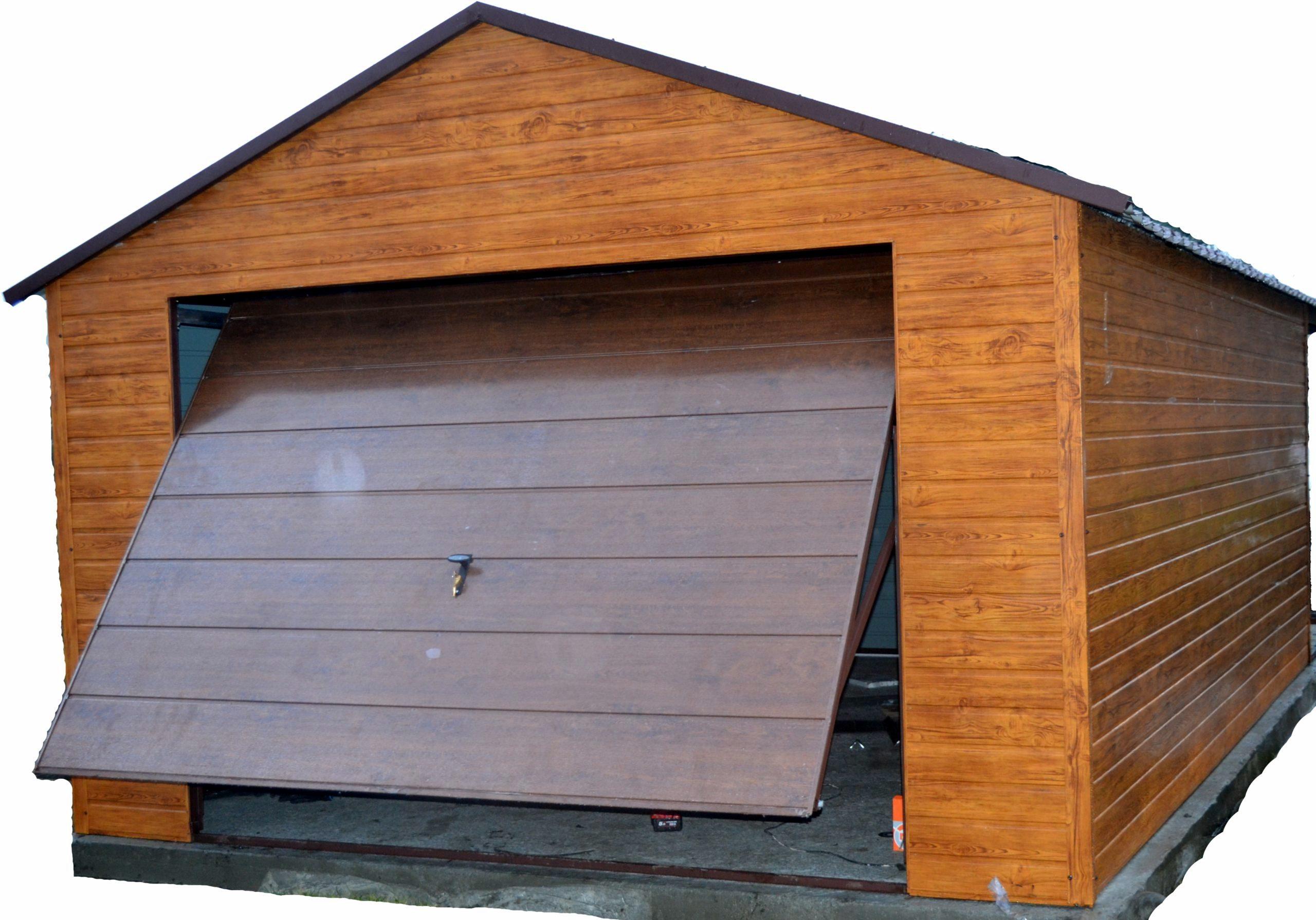Garaż Blaszany Garaże Blaszane Blaszak 4x5 7149210053 Oficjalne