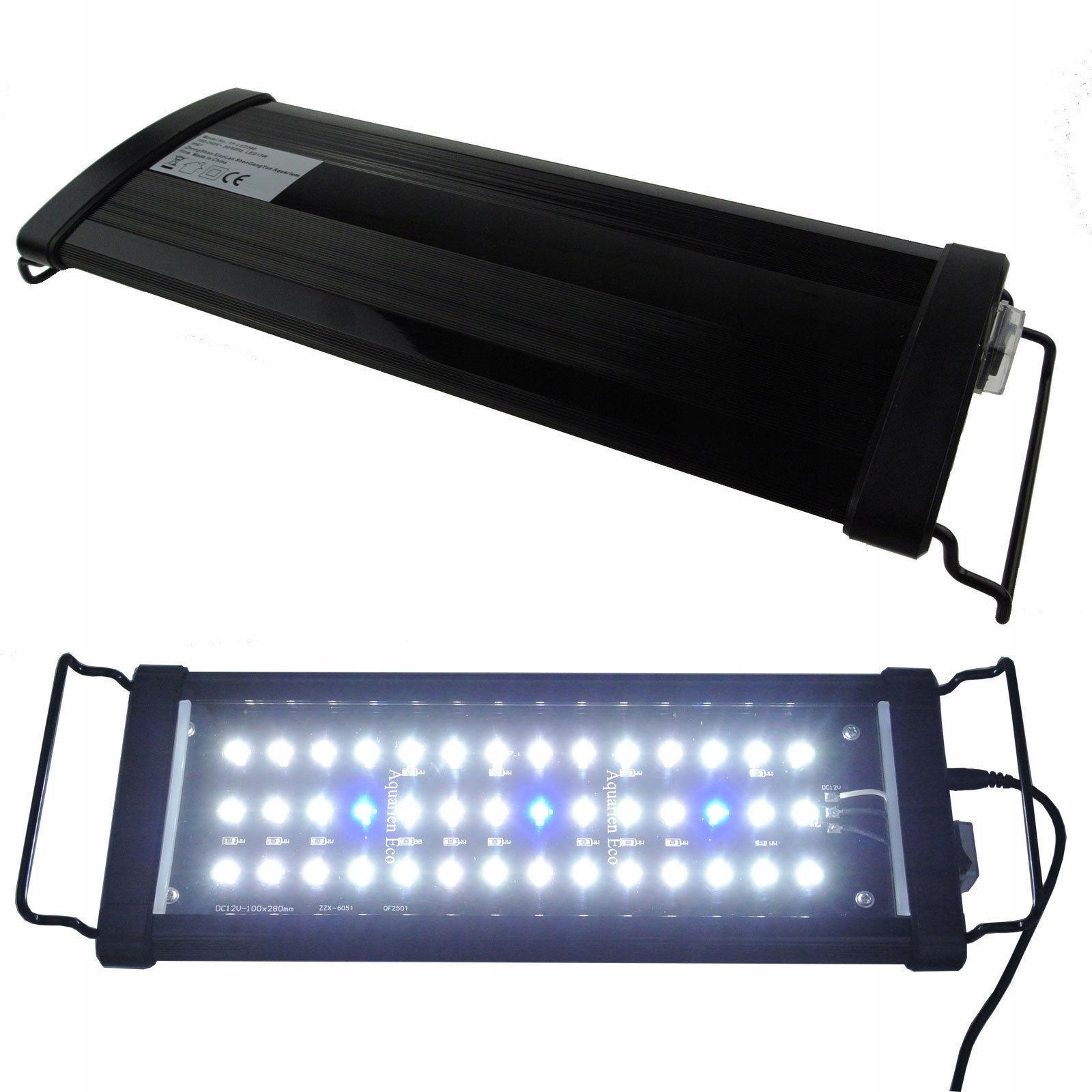 Lampa Led Do Akwarium Belka Oświetlenie 40 65cm 7686362505