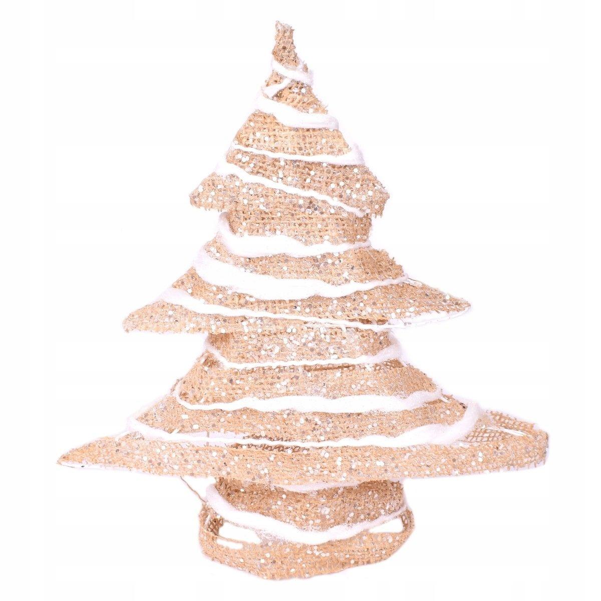 Choinka Jutowa Boże Narodzenie święta Dekoracja 7688556783