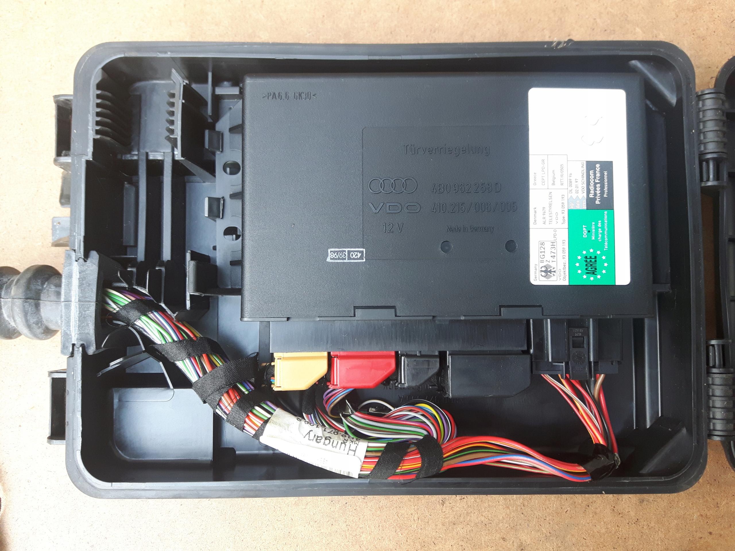 Okazja Moduł Komfortu Komputer Audi A6 C5 7448125696