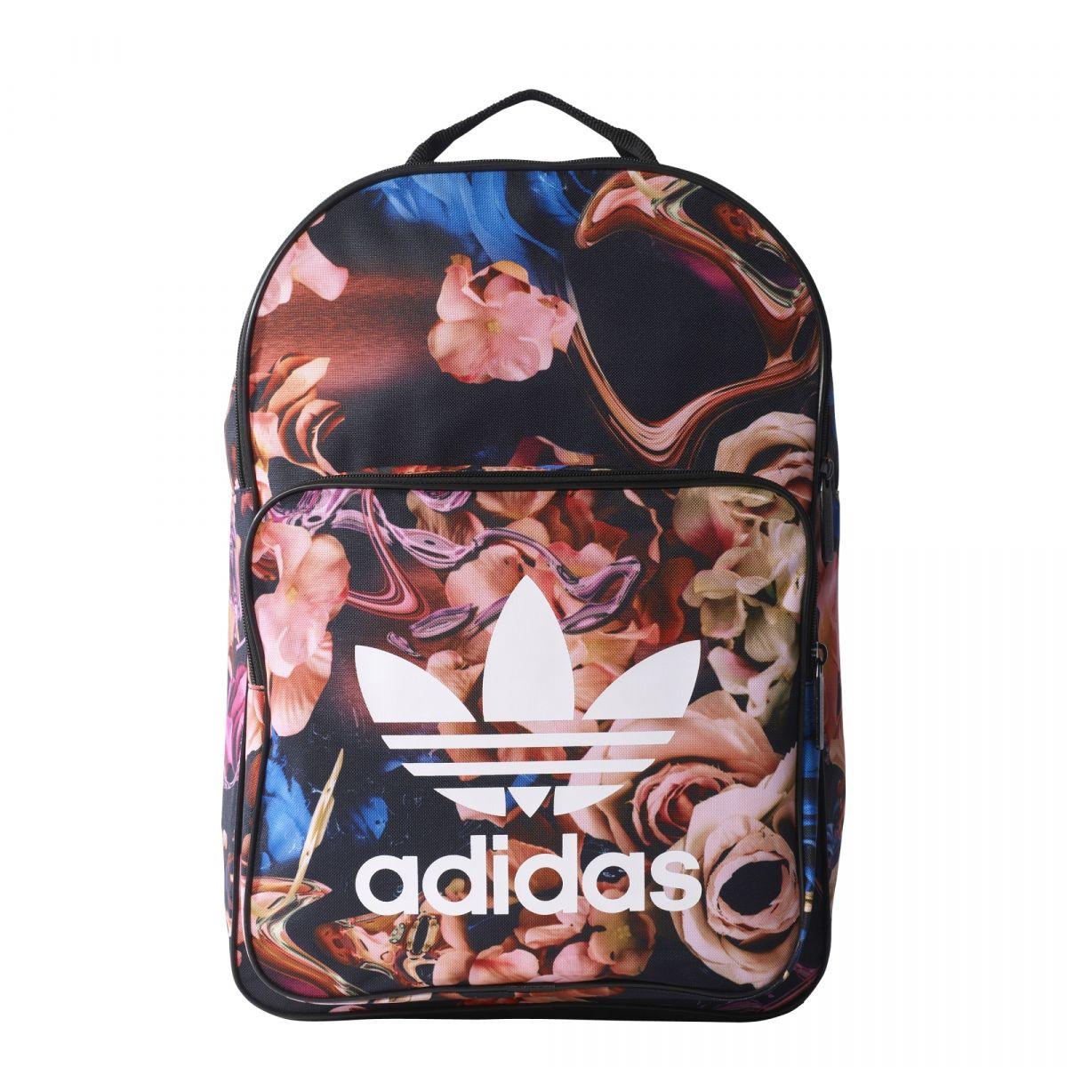 5338e3939f798 Plecak adidas szkolny KWIATY BR4906 r. 1size - 7140566029 ...