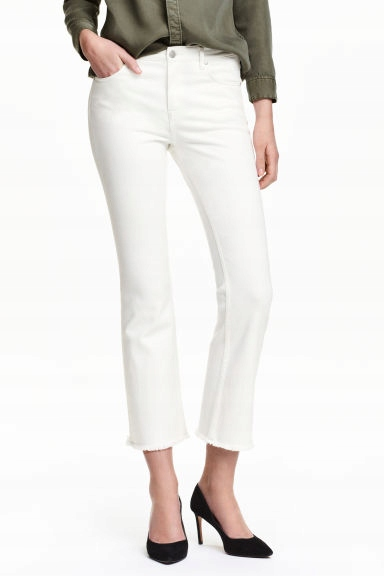 Kick Flare Ankle Jeans H&M 27