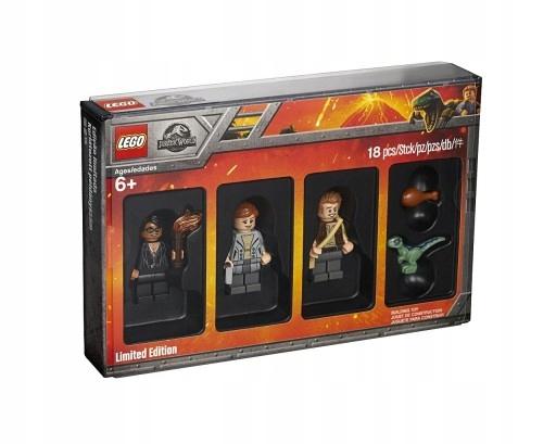 LEGO JURASSIC WORLD 5005255 MINIFIGURKI LIMITED ED