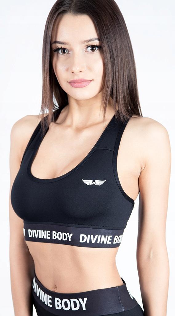 3deed973adb386 DIVINE BODY SPORTOWY TOP DAMSKI BLACK S - 7442281294 - oficjalne ...
