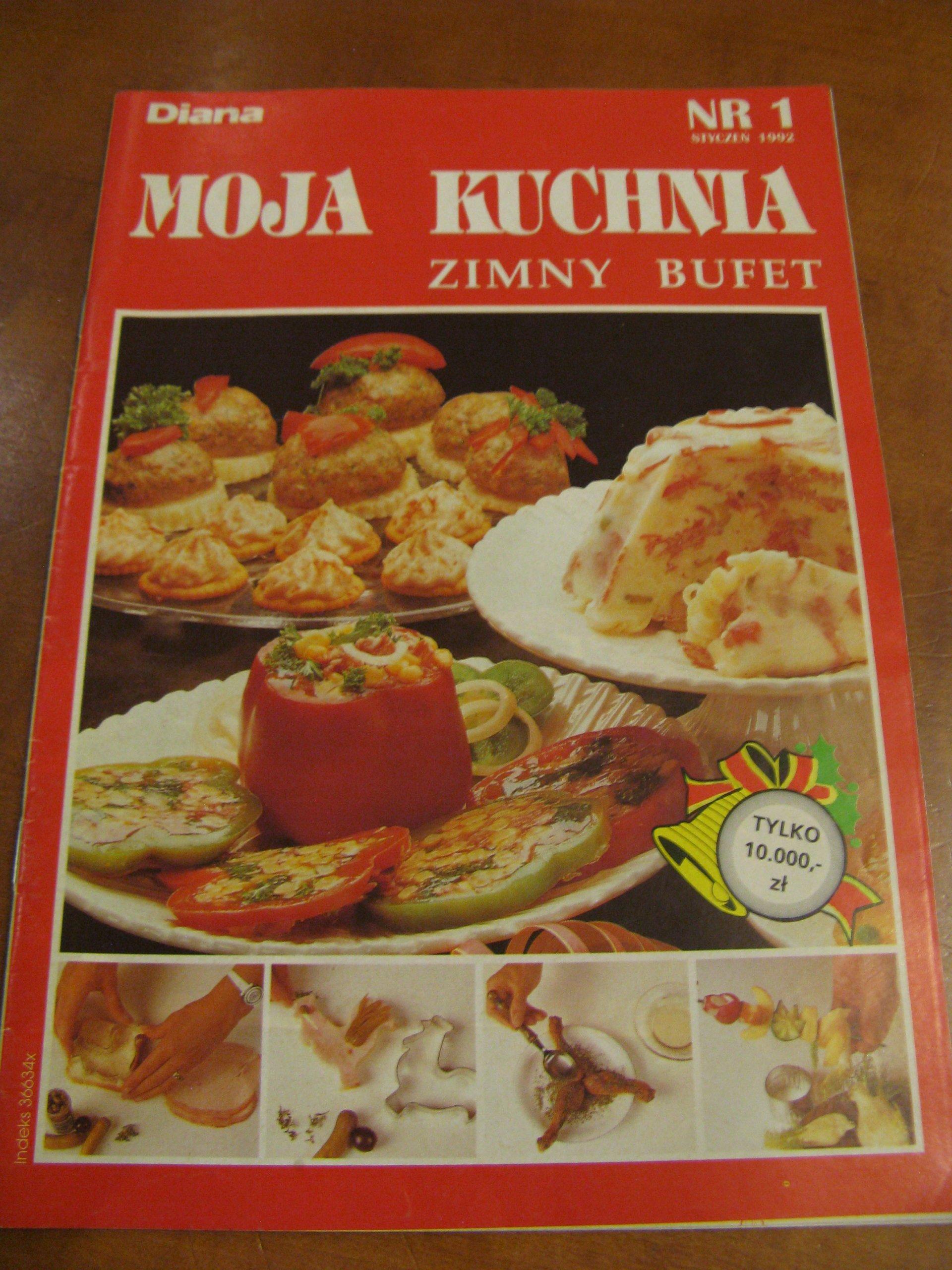 Diana Moja Kuchnia Zimny Bufet 11992