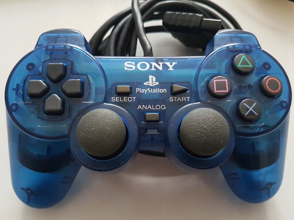 Pad ps2 DualShock 2 niebieski cosmic blue 100% ory