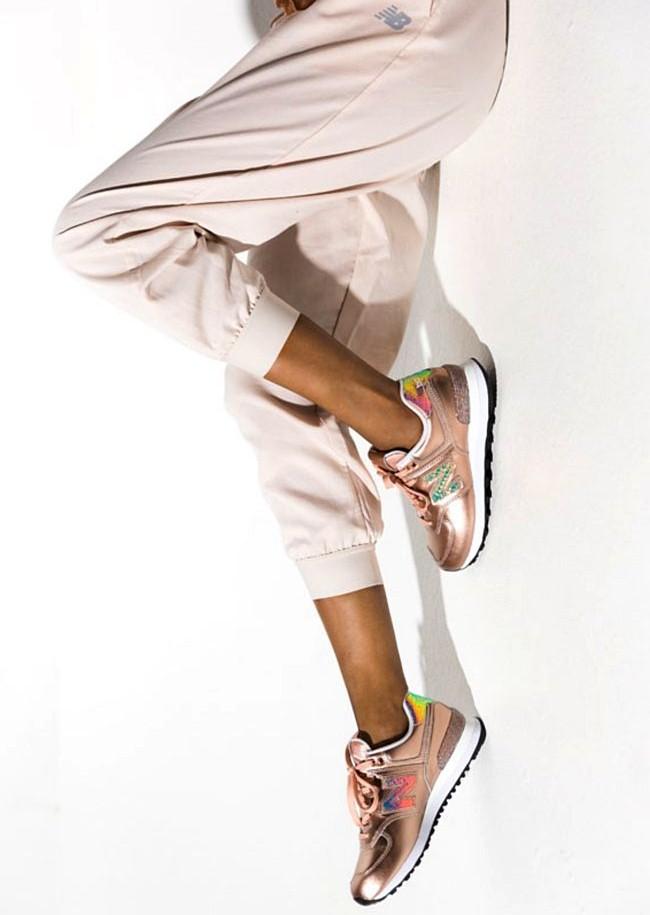 sports shoes 970ad 93b3d Buty NEW BALANCE Glitter Punk Girl's WL574NRG 38 ...