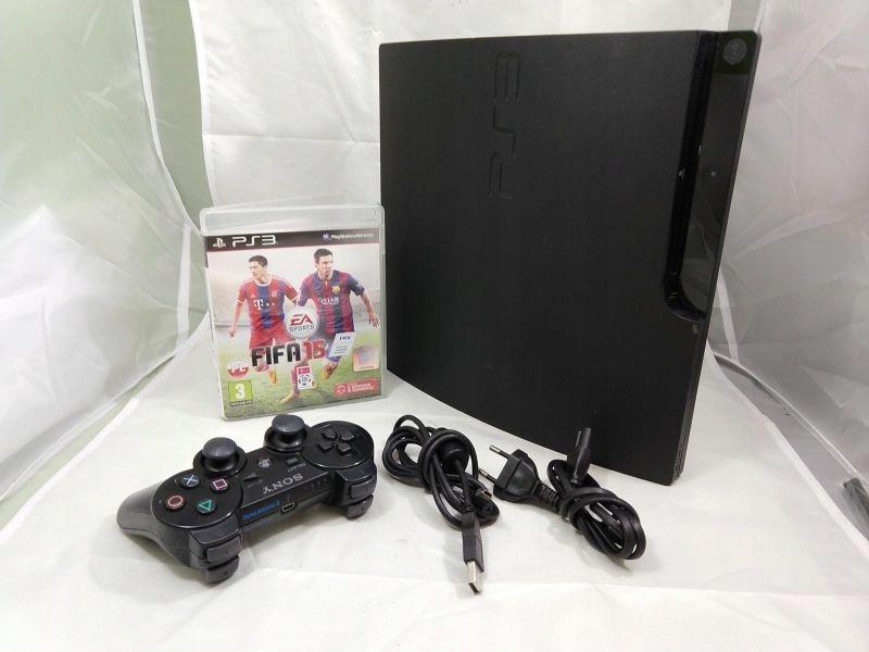 KONSOLA SONY PLAYSTATION 3 SLIM 320GB PAD FIFA15