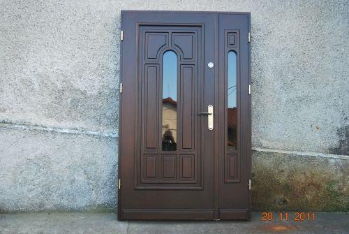 Nietypowy Okaz Drzwi + dostawka ruchoma DWUSKRZYDŁOWE 130 cm - 7712476934 RQ82