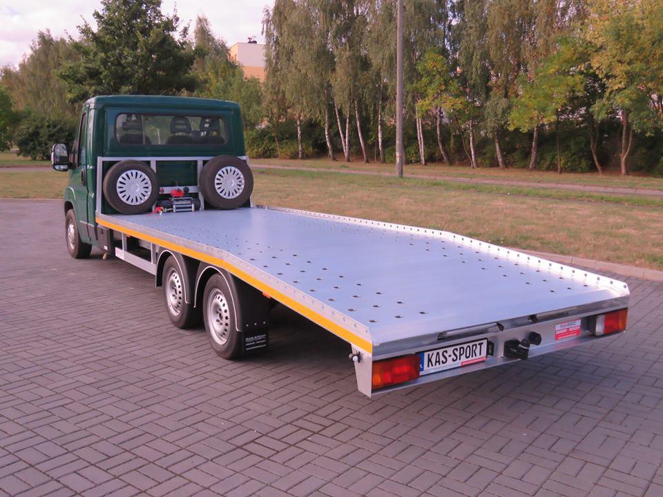 Zabudowa Laweta Pomoc Drogowa 100 Aluminiowa Zory 7147442678