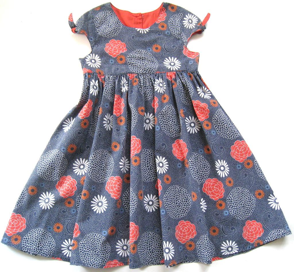 41aa306625 MOTHERCARE LETNIA sukienka KWIATY 6-7