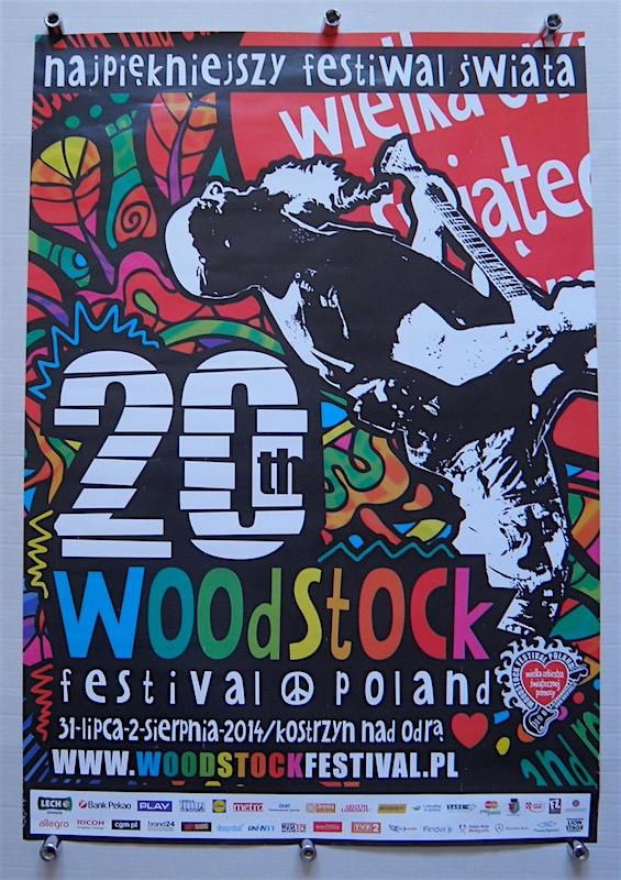 20 Woodstock Festival Poland 2014 Plakat 7697370208