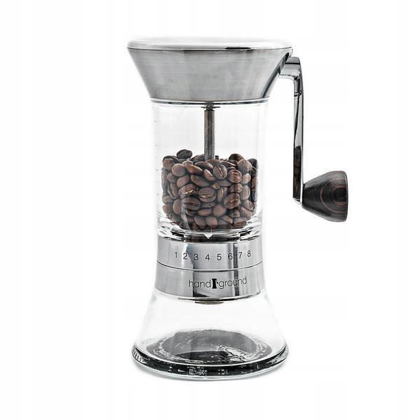 Młynek do kawy HANDGROUND Nickel wartość 550zł !!!