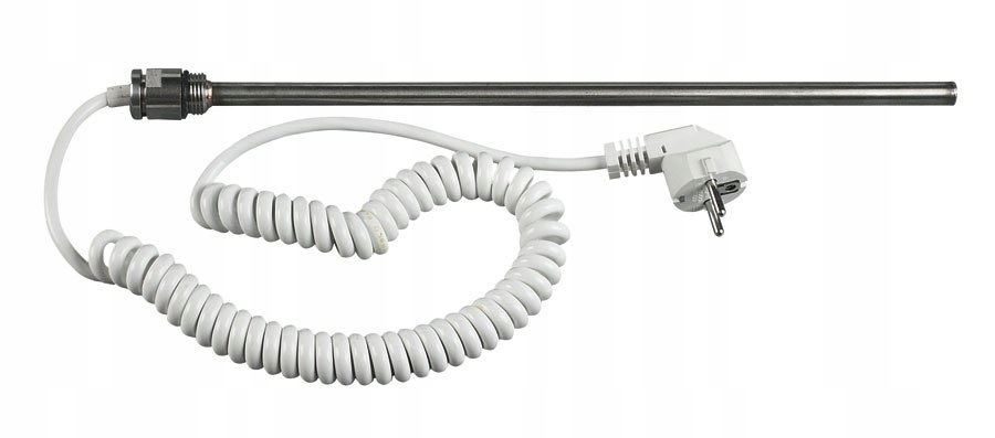 Grzałka elektryczna bez termostatu, 600 W