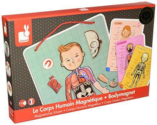 BODY MAGNET ludzkie ciało na magnes 9 języków