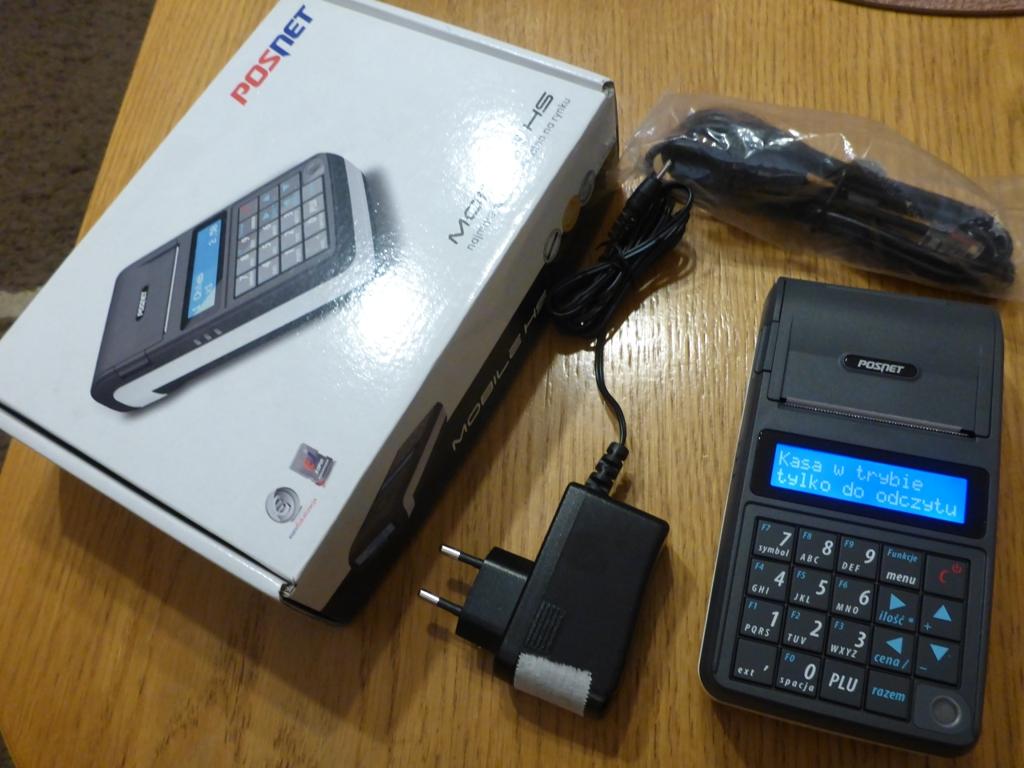 Ogromny Używana kasa fiskalna Posnet Mobile HS na cześci - 7123959557 TB04