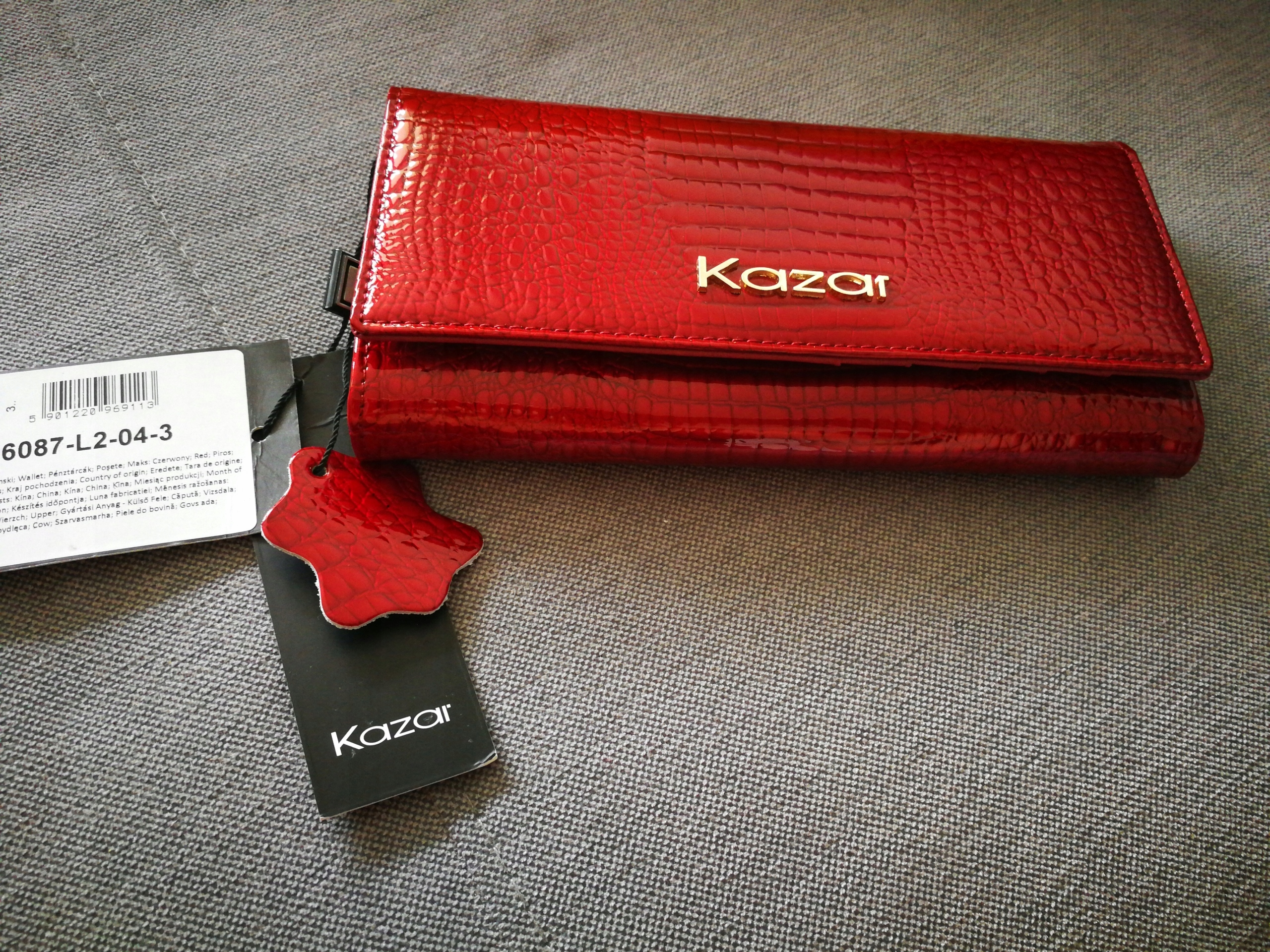 c1c2983aebacf portfel KAZAR Nowy model 16087-L2-04 - 7605228222 - oficjalne ...