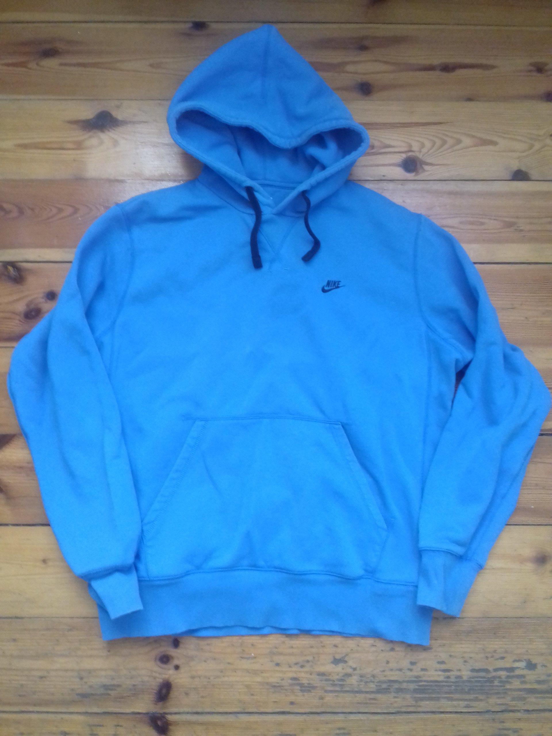 a6cdf014f Bluza Sportowa Nike z kapturem niebieska - 7336738489 - oficjalne ...