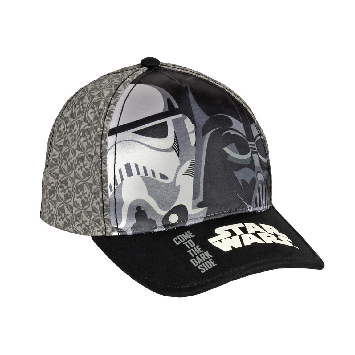 Czapka z daszkiem Star Wars size 52 szara - 6832601312 - oficjalne ... 5a2abeaa3f