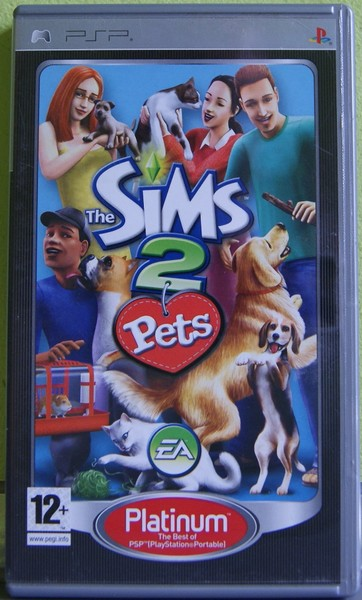 GRA PSP THE SIMS 2 PETS