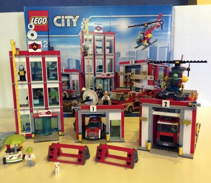 Lego City Straż Pożarna Płytka Budowlana 7455271493 Oficjalne