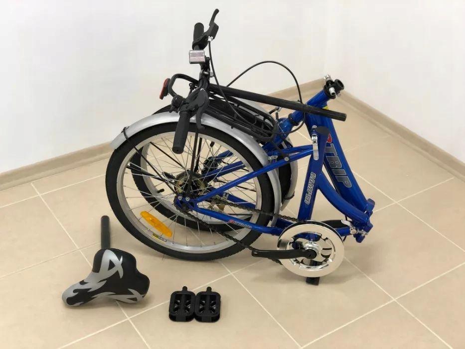 NOWY rower składany 3TRIP rama 20 cali składak