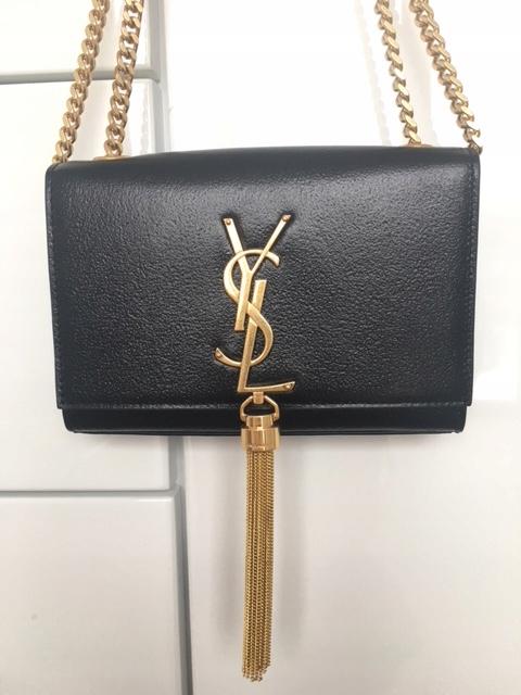 0e0bddd8442e8 Piękna torebka kopertówka Kate firmy YSL - 7767412152 - oficjalne ...
