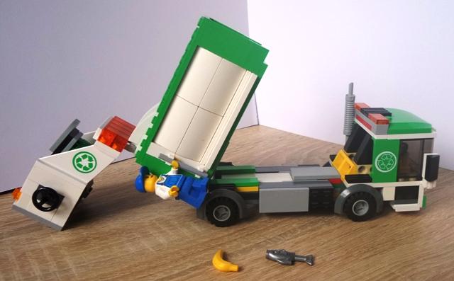 Lego City 4432 śmieciarka Instrukcja 7079921232 Oficjalne