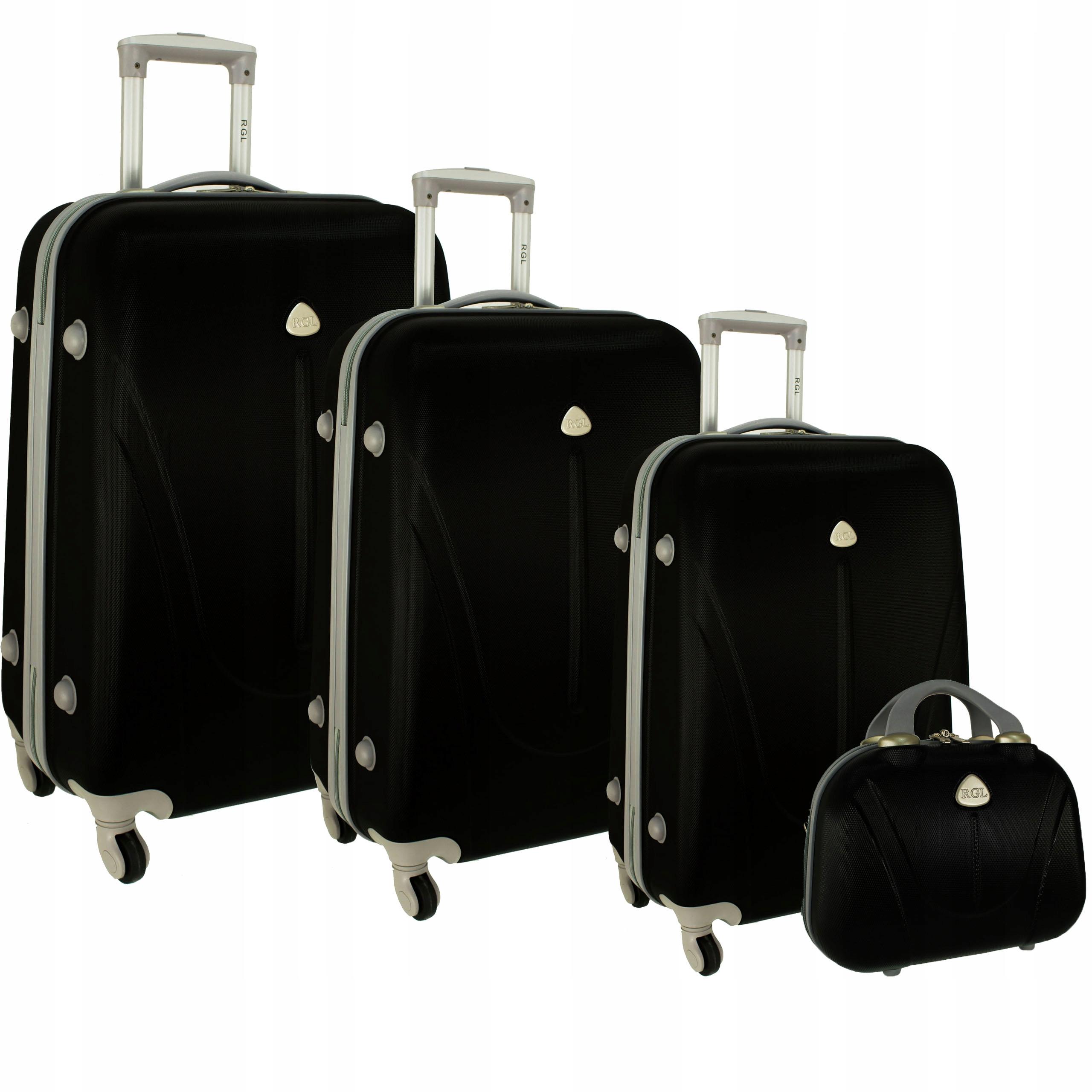 f486c2fd37818 883 RGL Walizki + kuferek walizka podróżna torba - 6897619624 ...