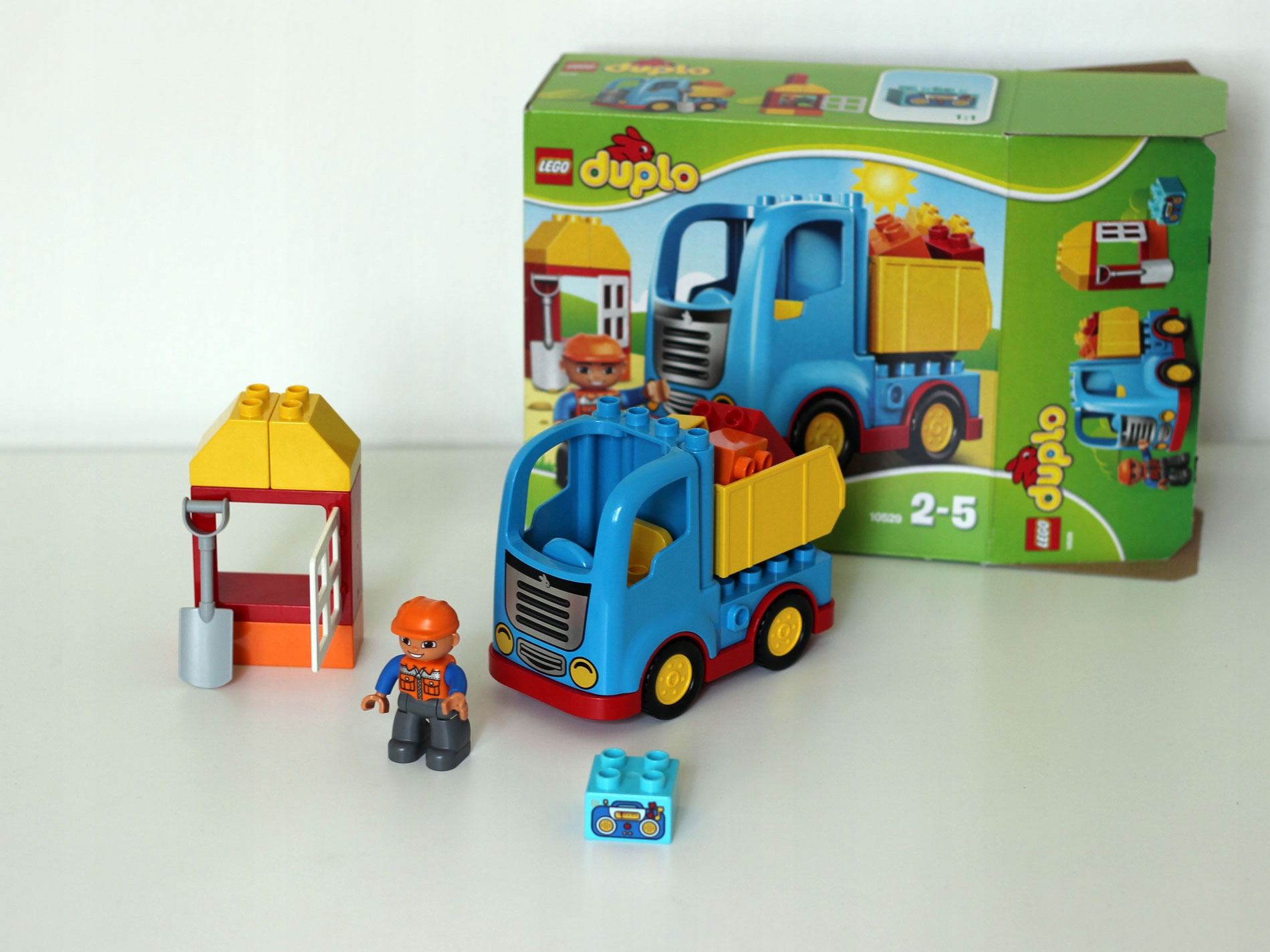 Klocki Lego Duplo Ciężarówka 10529 7666413595 Oficjalne Archiwum