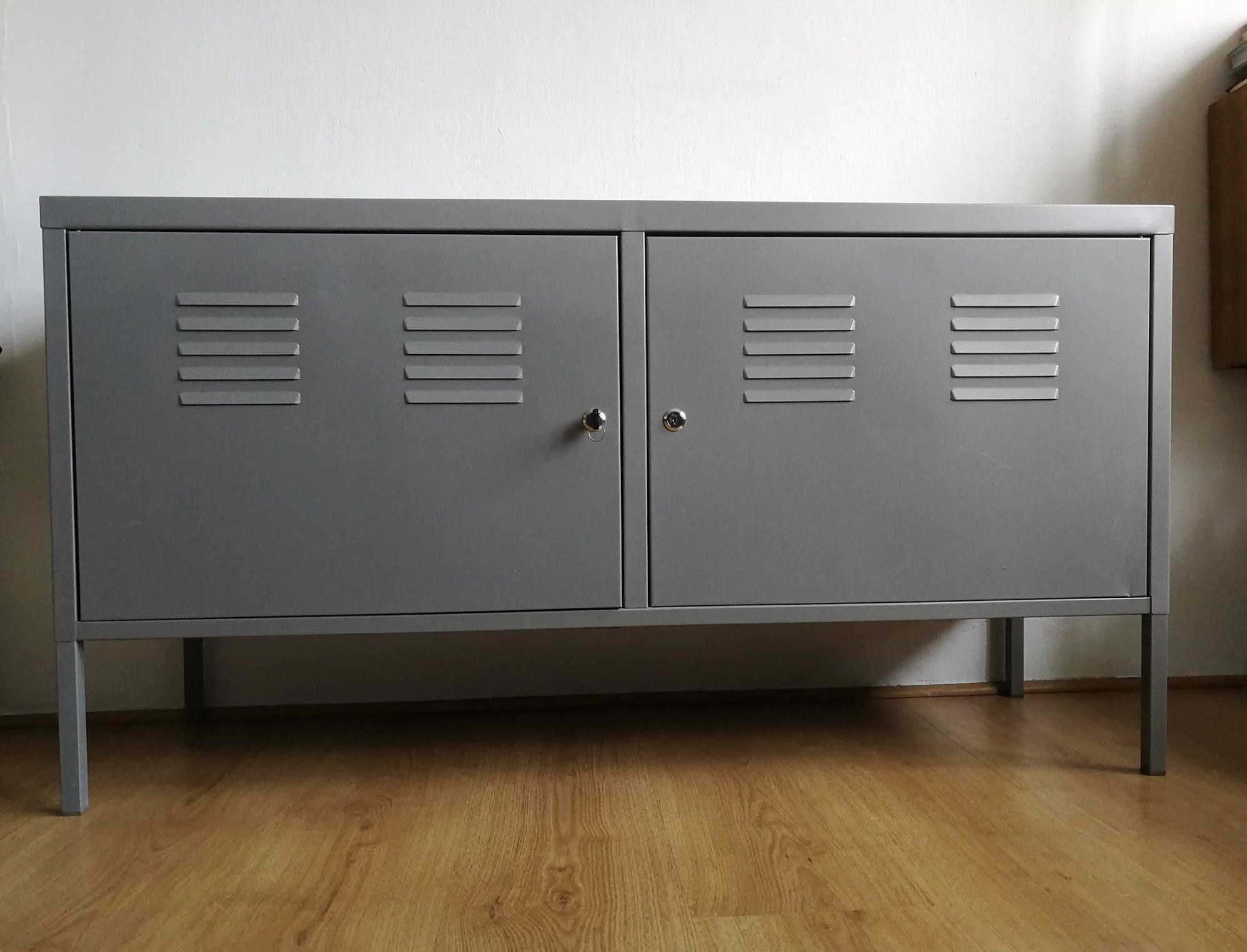 Tylko na zewnątrz IKEA PS metalowa SZAFKA - 7020288319 - oficjalne archiwum allegro IE74