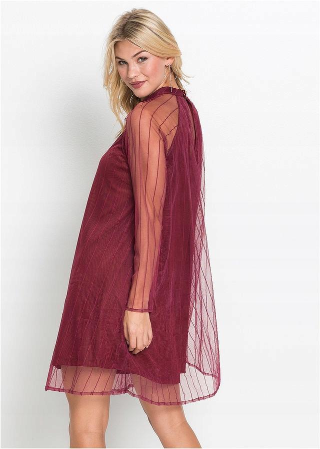d707620507 Sukienka czerwony 32 34 XXS XS 925197 bonprix - 7690325999 ...