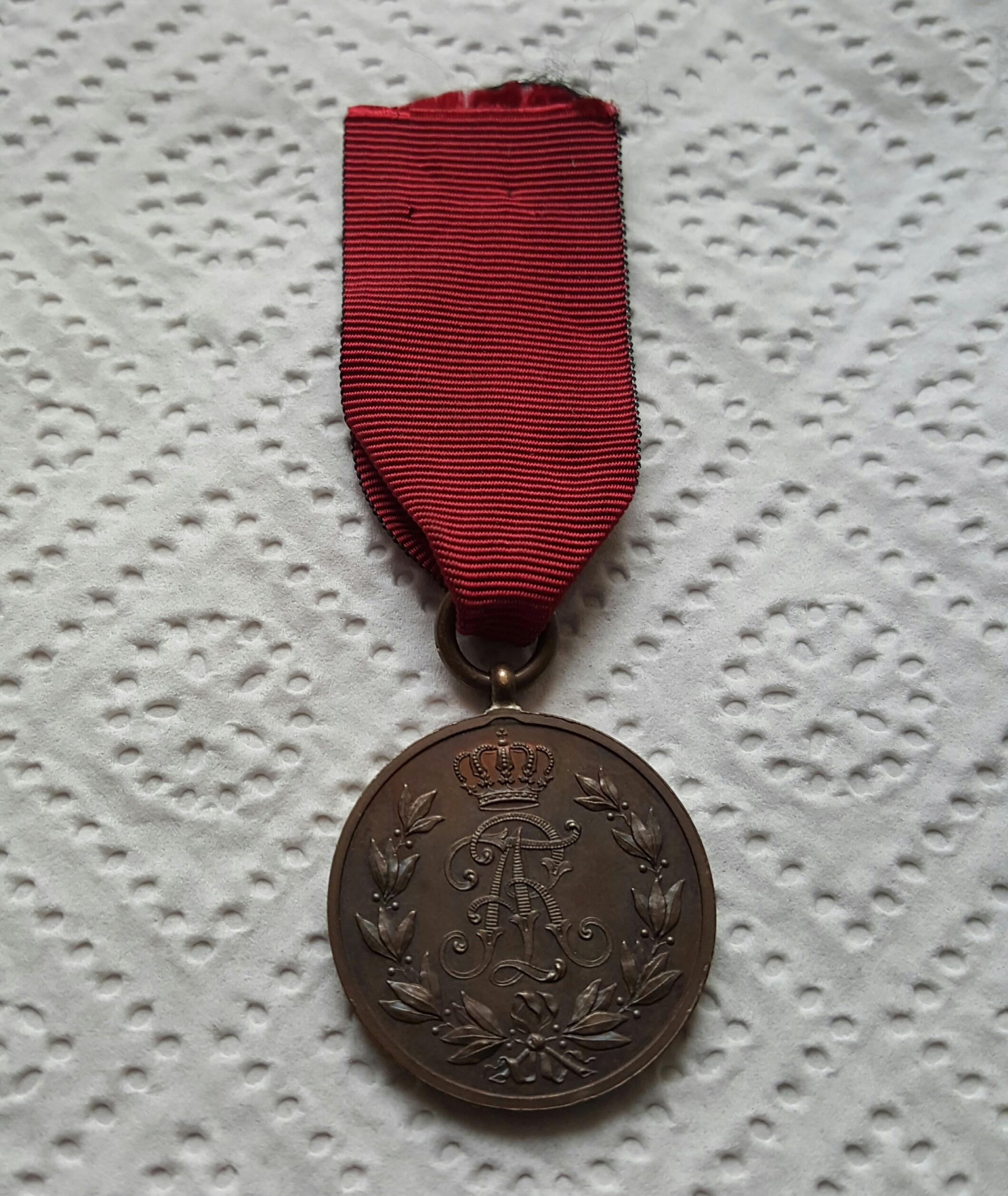 Medal Fryderyka Augusta Saksonia - Stan !!!