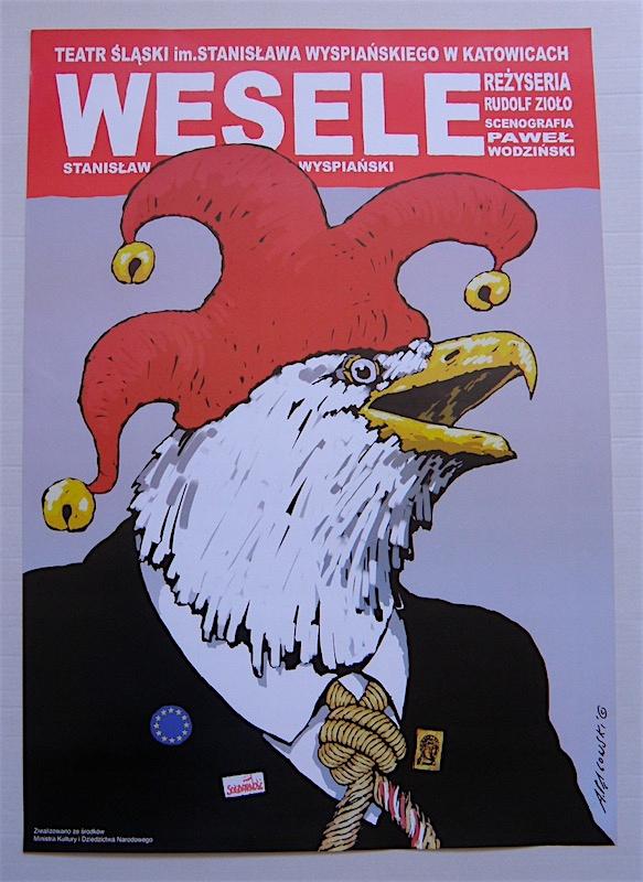 Wesele Plakat Teatralny A Pągowski 7752038743