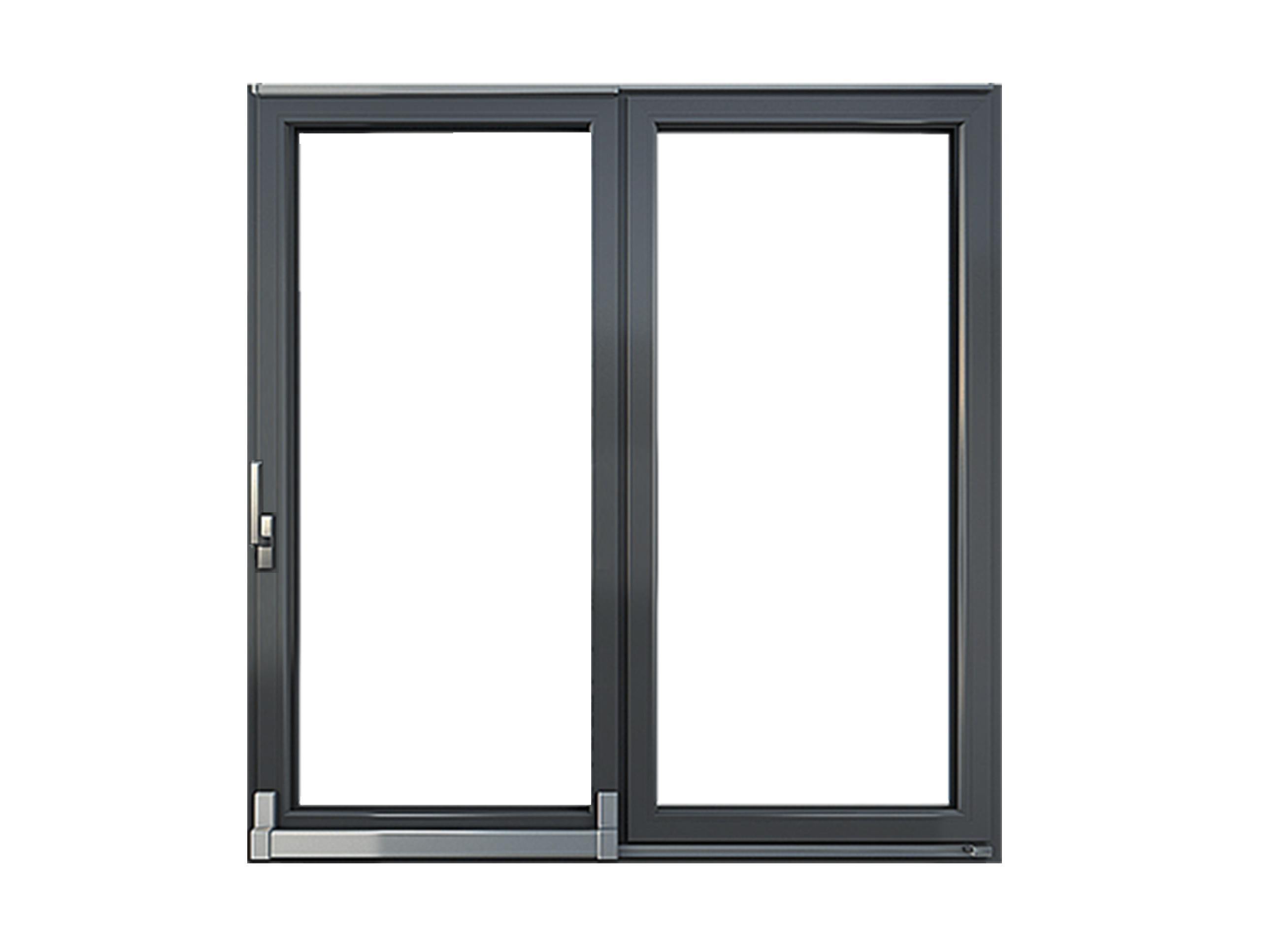 Drzwi Okno Tarasowe Przesuwne Antracyt Cała Polska