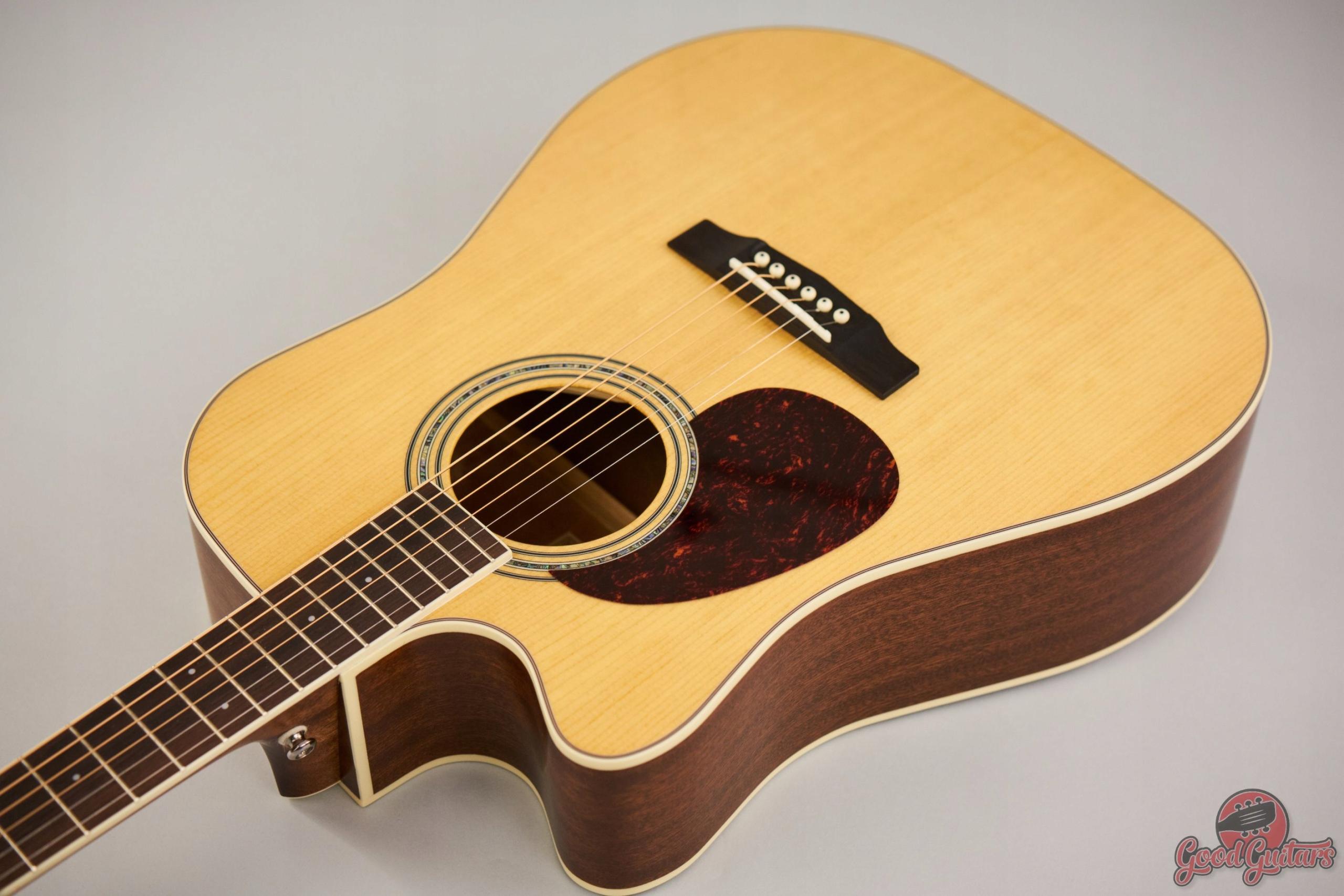 Gitara leworęczna dla leworęcznych Cort MR 710F LH