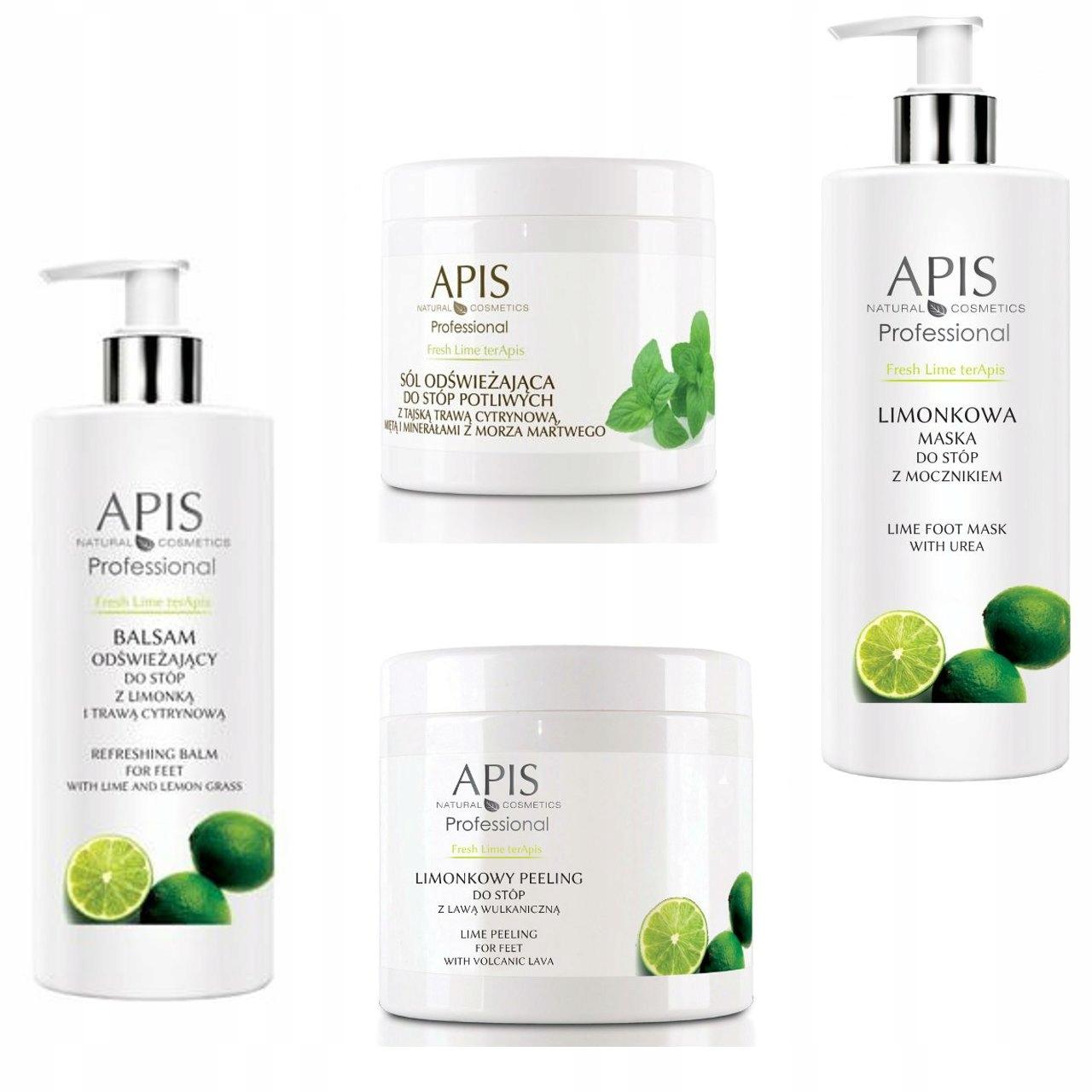 APIS Fresh Lime TerApis Zabieg odświeżający stopy
