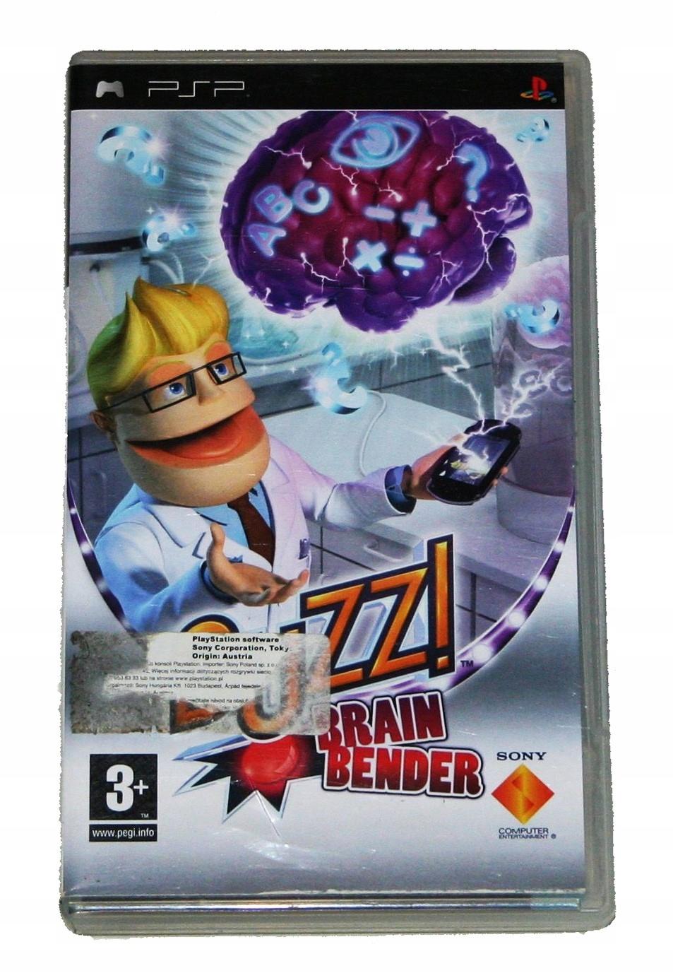 Buzz! Brain Bender gra na konsole Sony PSP