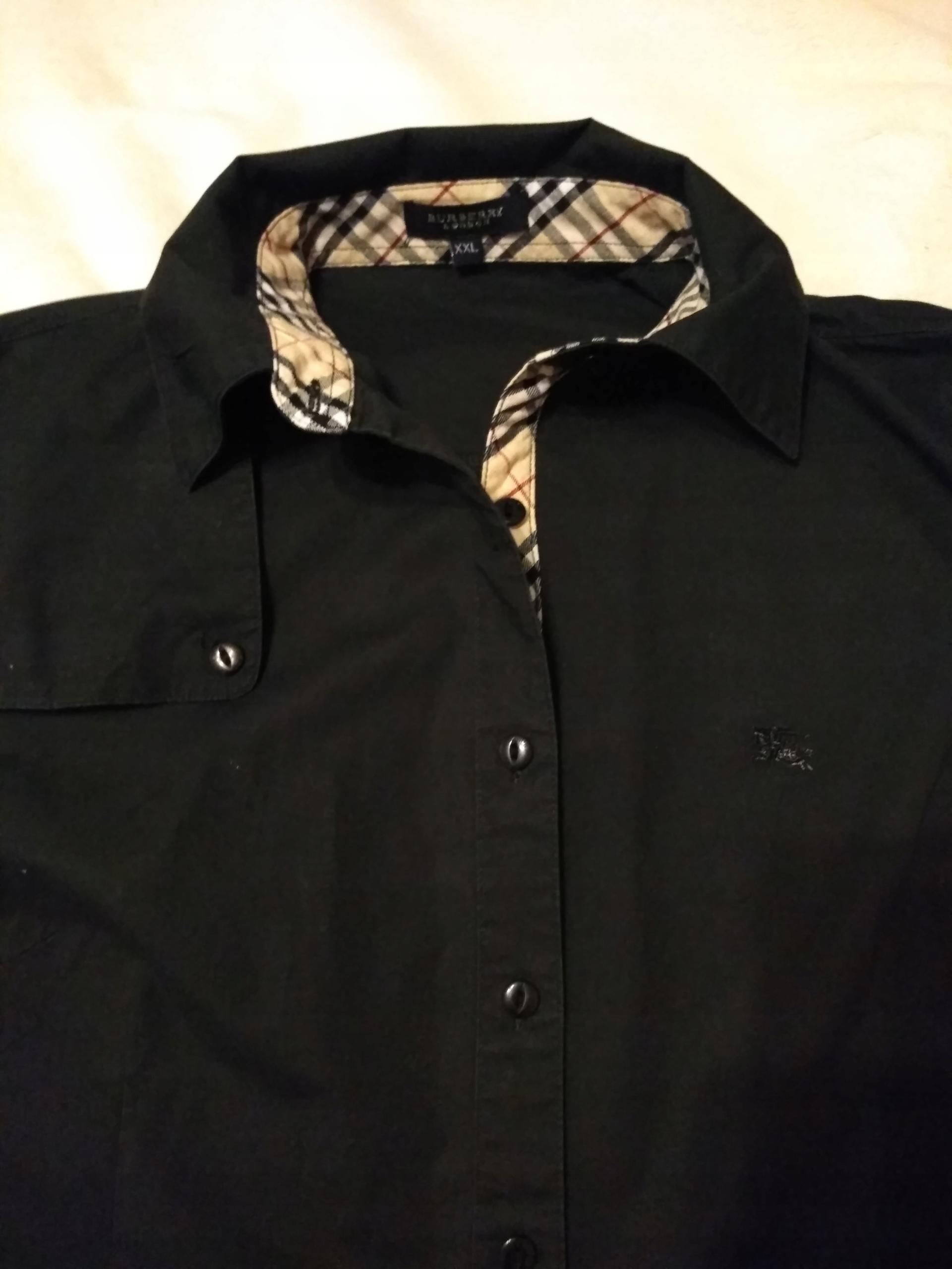 2371f2222 Burberry koszula bluzka rozm.XL - 7668384525 - oficjalne archiwum ...
