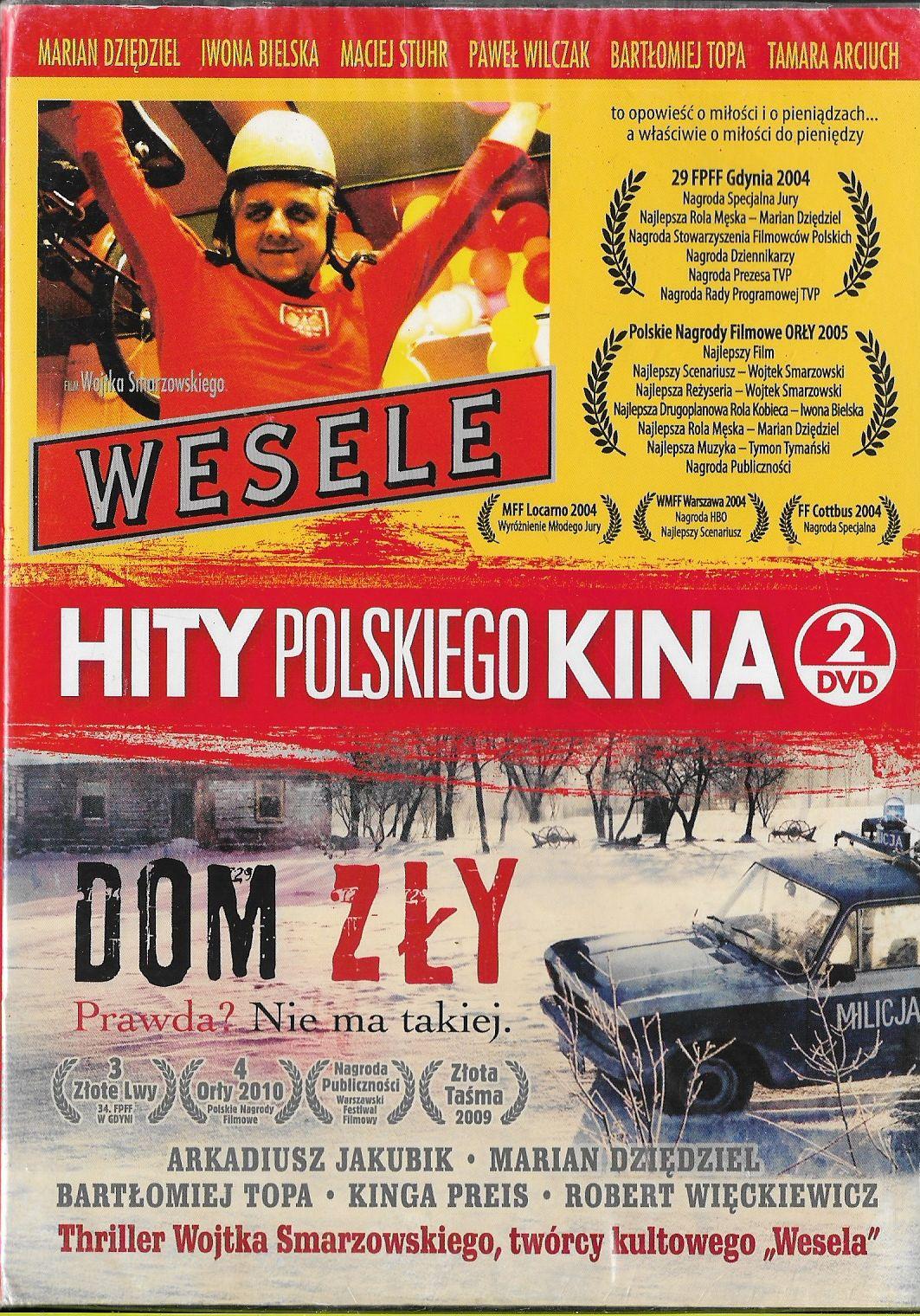 Wesele Dom Zły Reżwsmarzowski 2xdvd Nowe Folia 7156244039