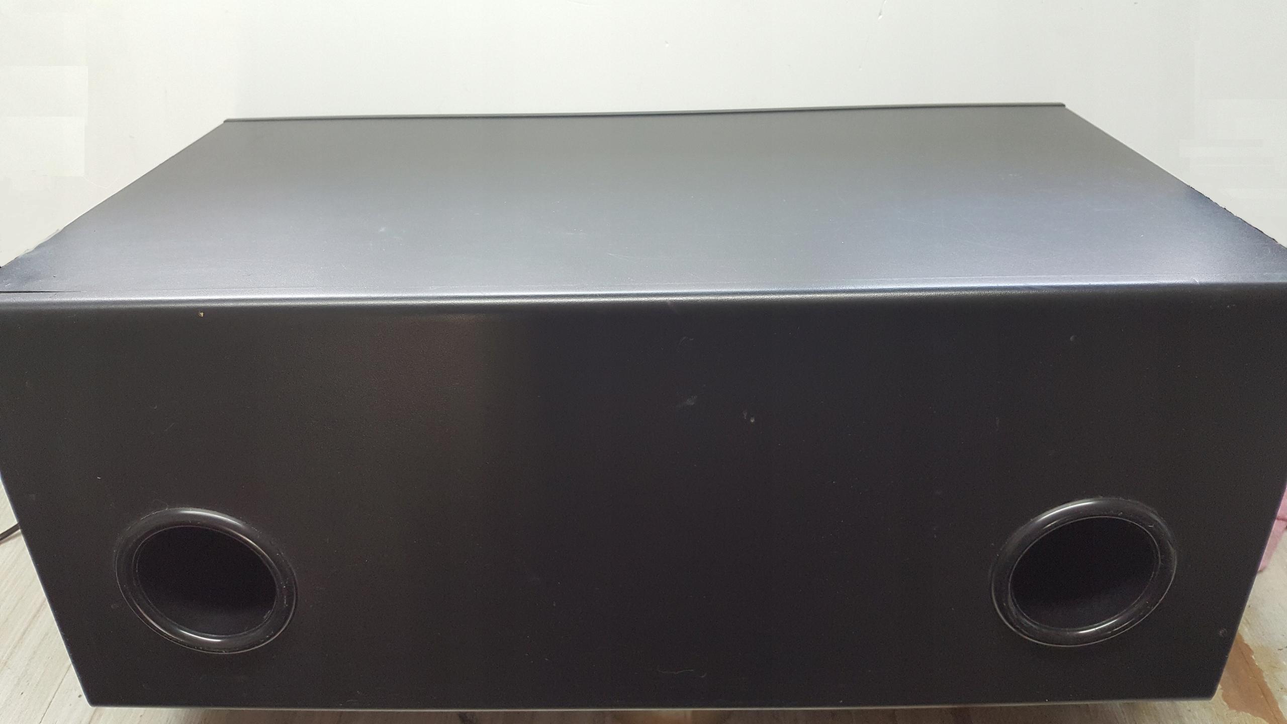 Subwoofer Tonsil aktywny ZGN 200-8-594 2x200W