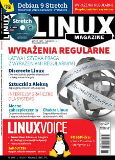 Linux Magazine 7/2017: Wyrażenia regularn Debian 9