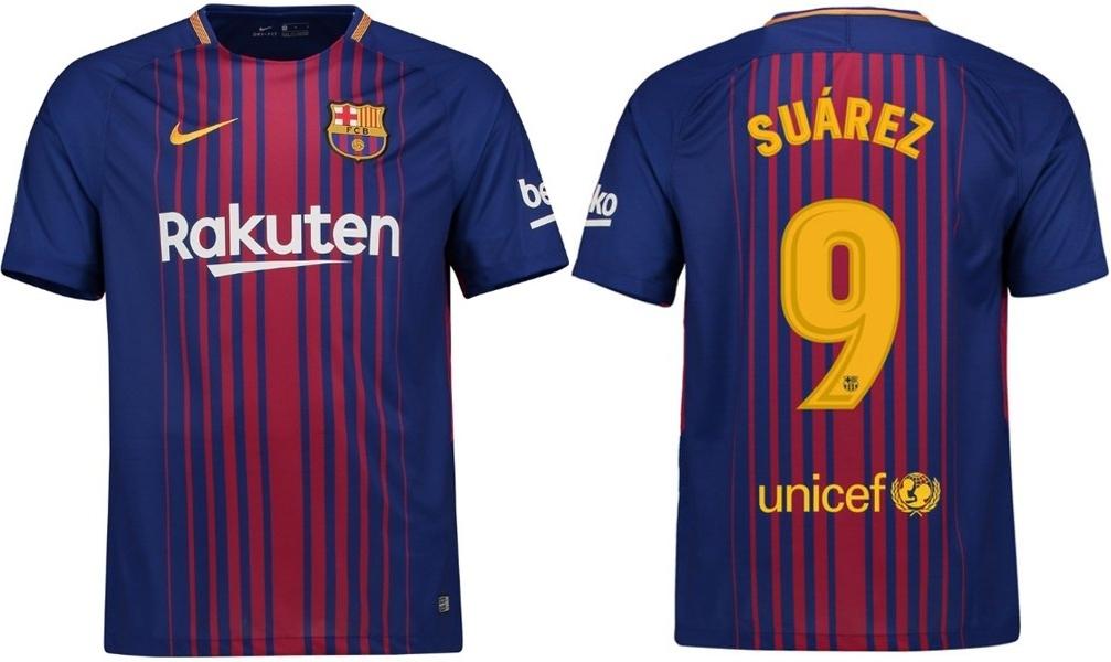 bd9ec8427 FC Barcelona 17/18 Koszulka z własnym nadrukiem - 6888674667 ...