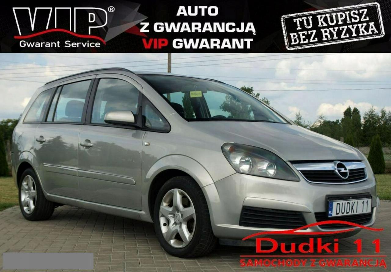 Opel Zafira 1,9cdti DUDKI 11 aut,7